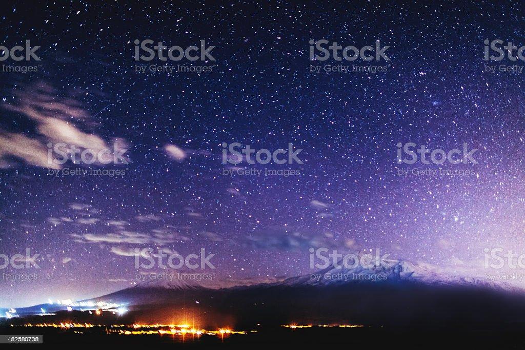 Mount Ararat stock photo