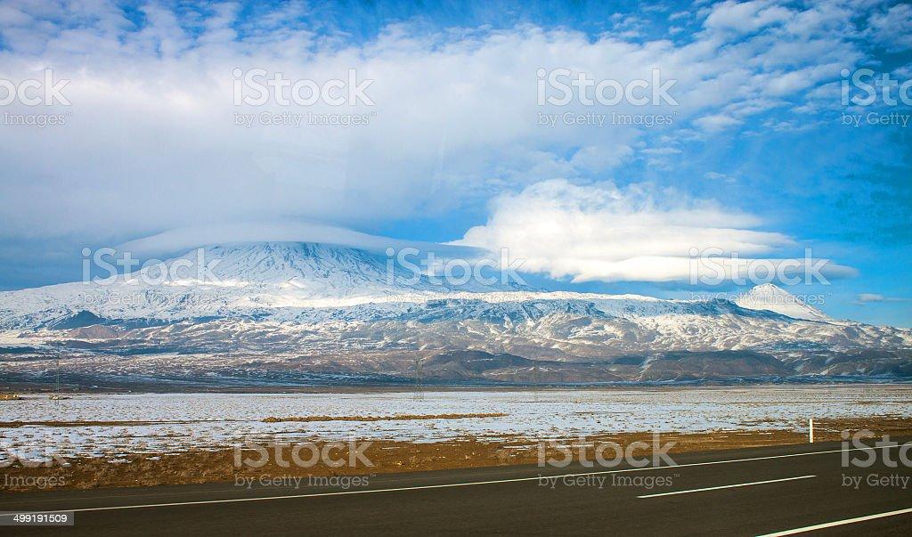Mount Ararat royalty-free stock photo
