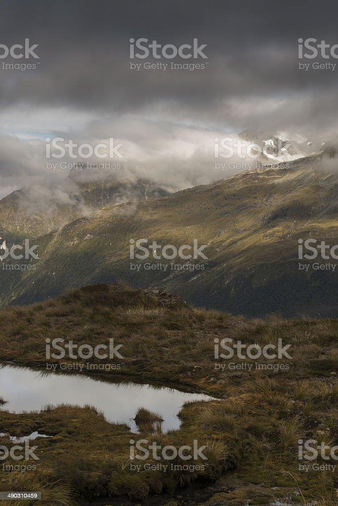 Mount Aspiring / Routeburn Track NZ stock photo