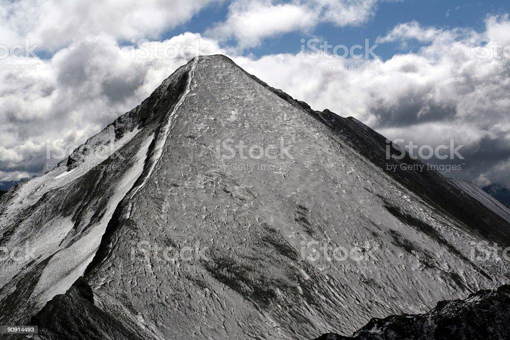 Mount Assiniboine Close Up stock photo
