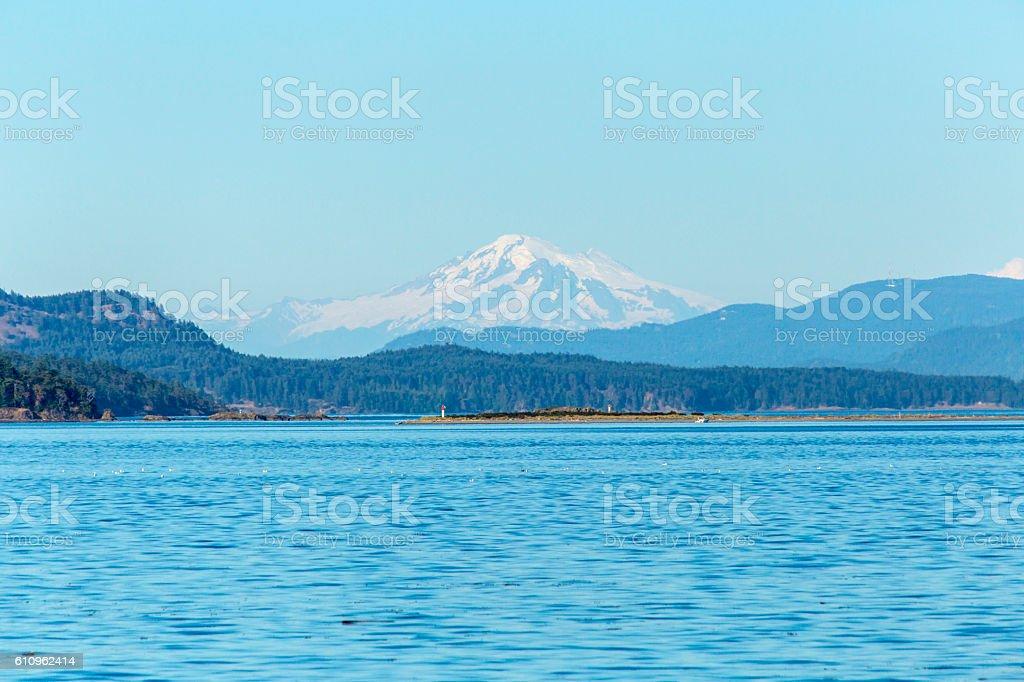 Mount Baker Washington State USA stock photo