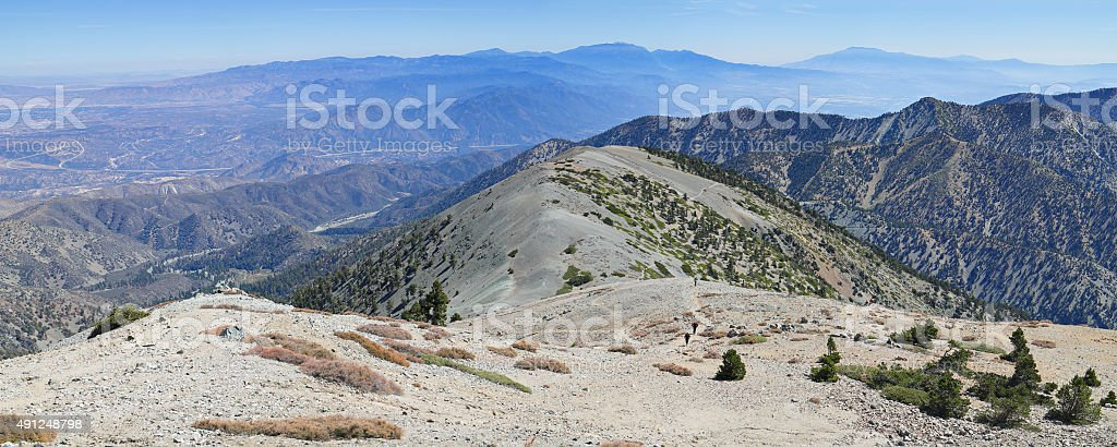 Mount Baldy - Los Angeles stock photo