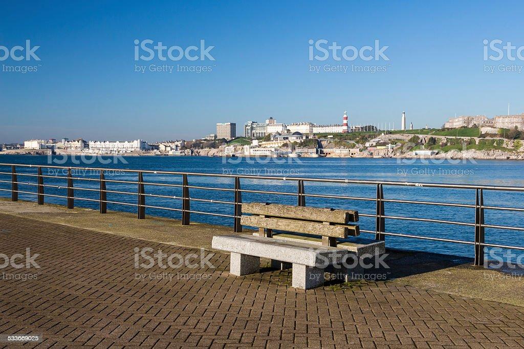 Mount Batten Plymouth stock photo