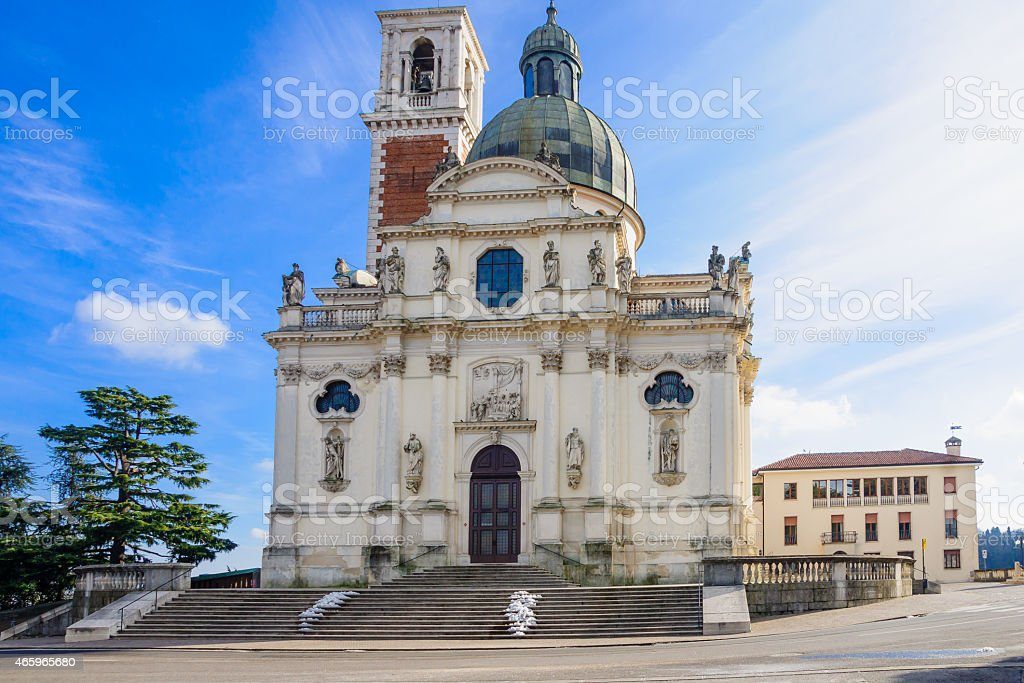 Mount Berico, Vicenza stock photo