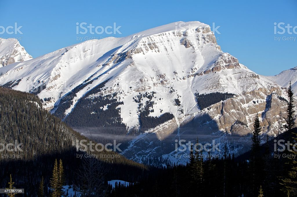 Mount Bourgeau Banff National Park royalty-free stock photo