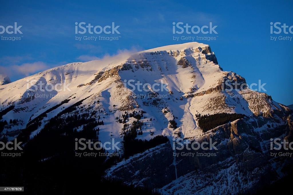 Mount Bourgeau Banff National Park royalty-free stock photo
