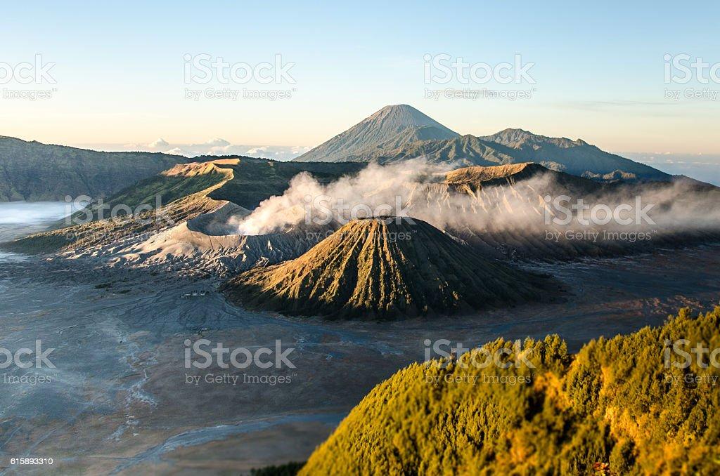 Mount Bromo stock photo