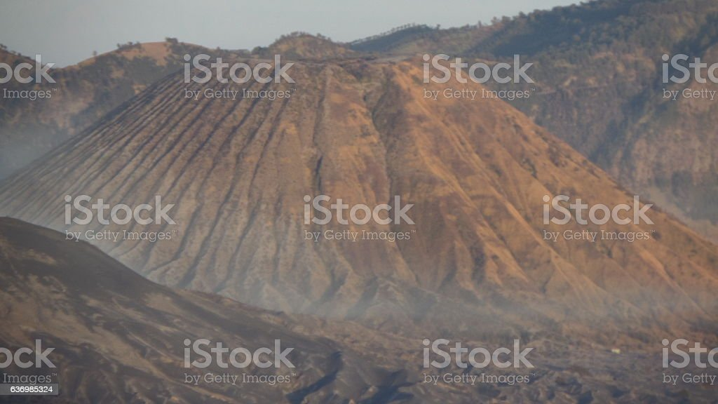 Mount Butak stock photo