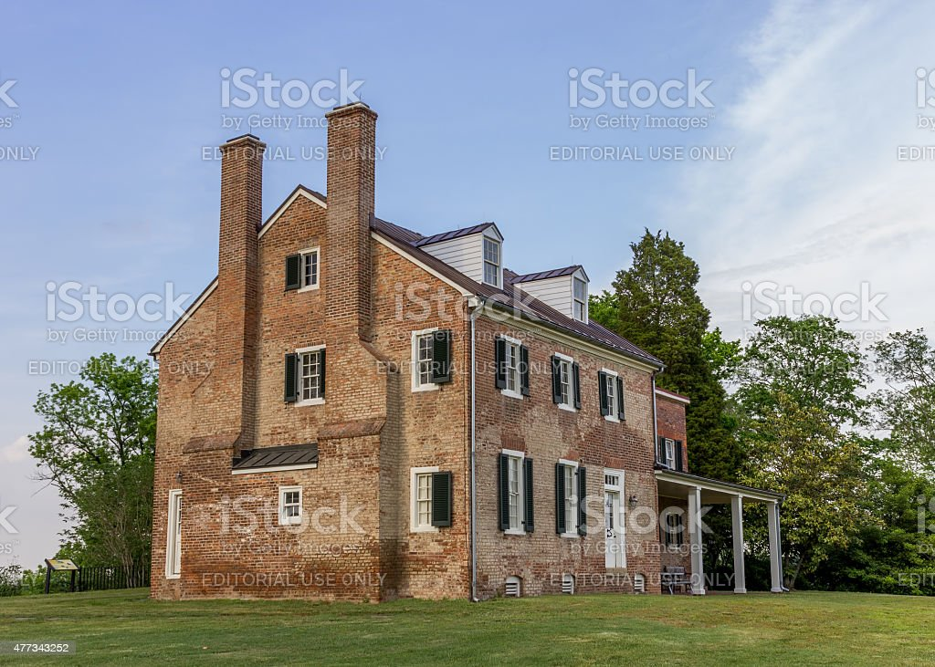 Mount Calvert Historical and Archaeological Park stock photo
