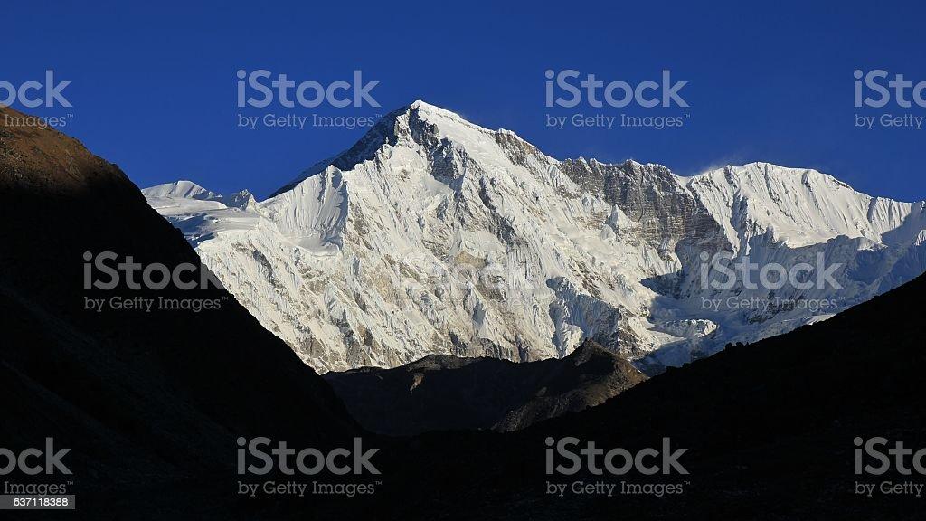 Mount Cho Oyu stock photo