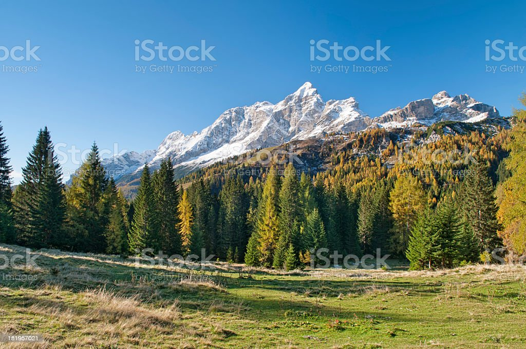Mount Civetta royalty-free stock photo
