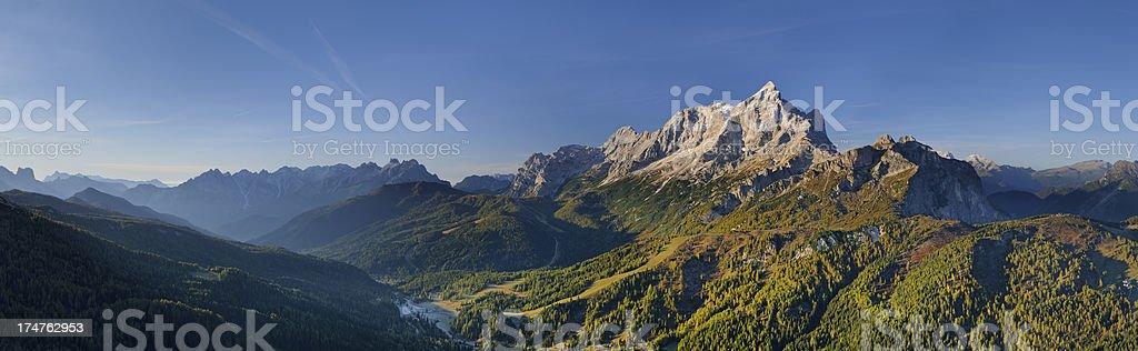 Mount Civetta (Dolomites) stock photo