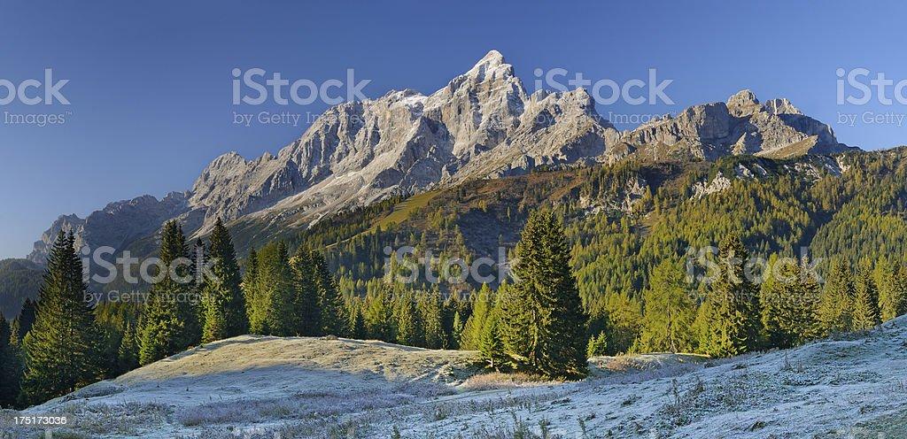 Mount Civetta (Dolomites - Italy) stock photo