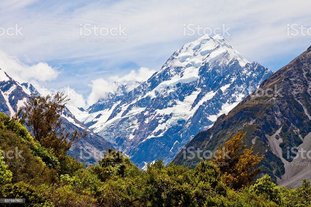 Mount Cook 3 stock photo