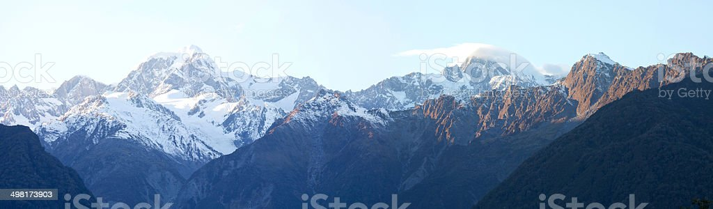 Mount Cook national park , New Zealand stock photo
