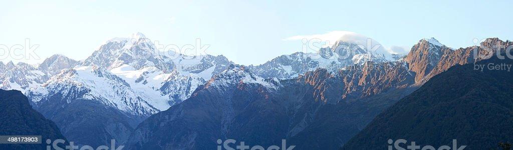 Mount Cook national park , New Zealand stock photo