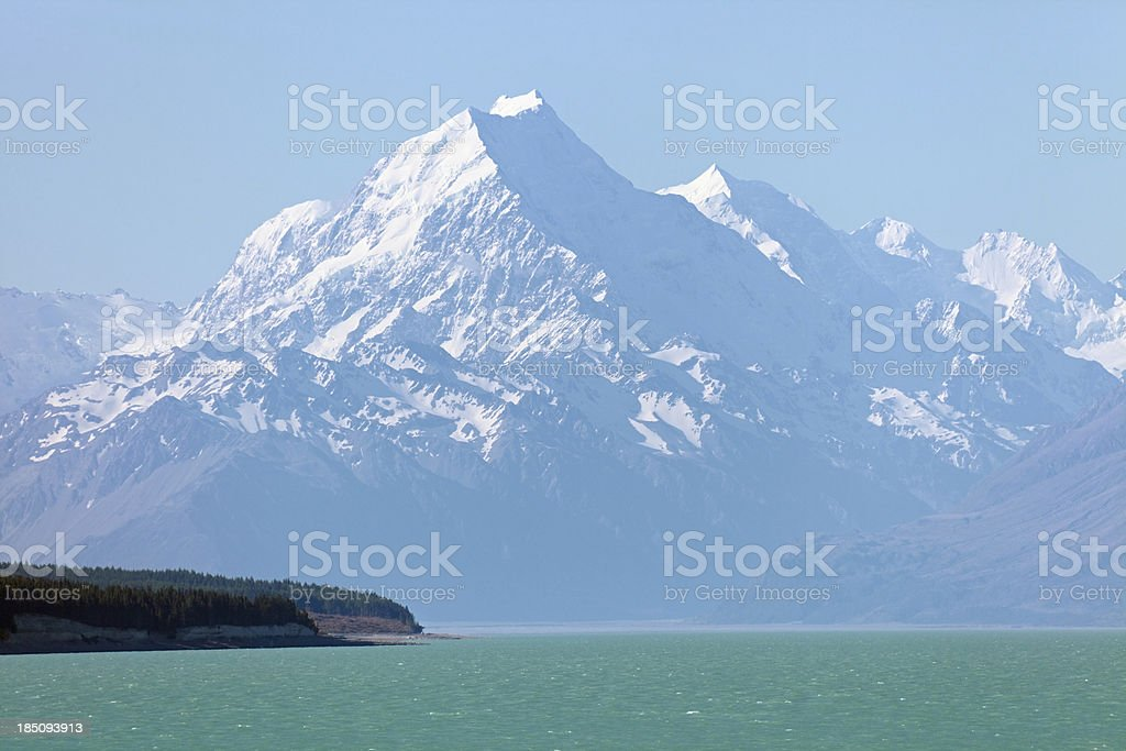 Mount Cook royalty-free stock photo