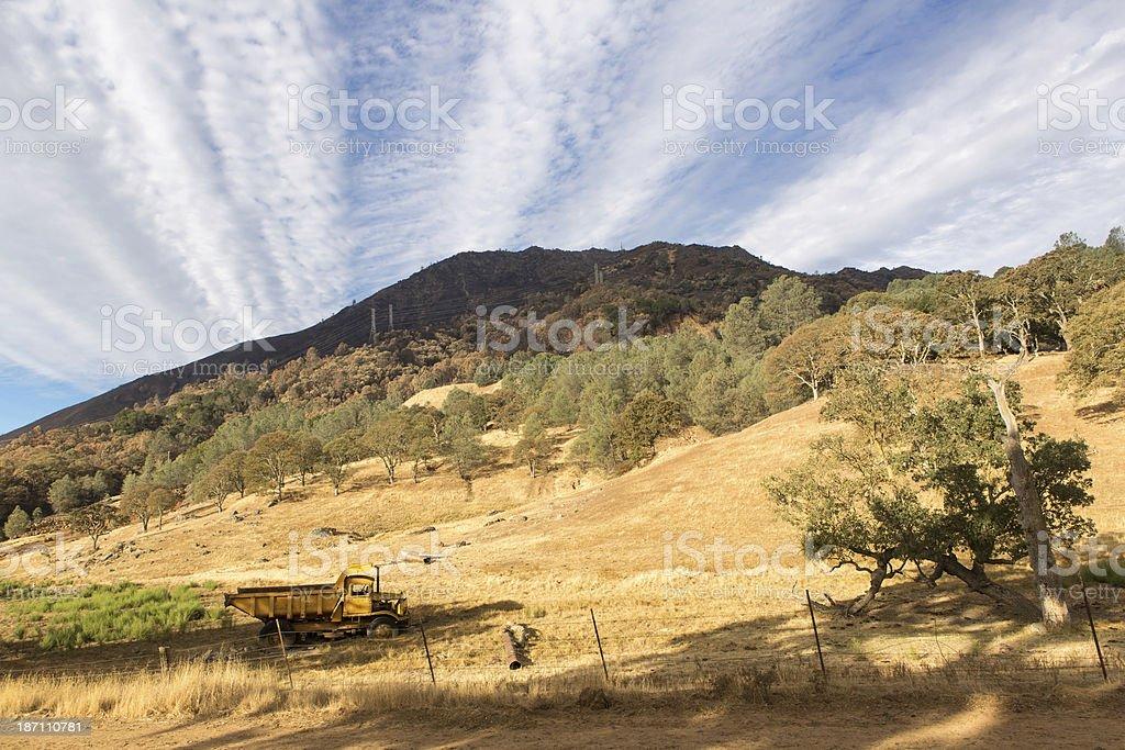 Mount Diablo Morning royalty-free stock photo