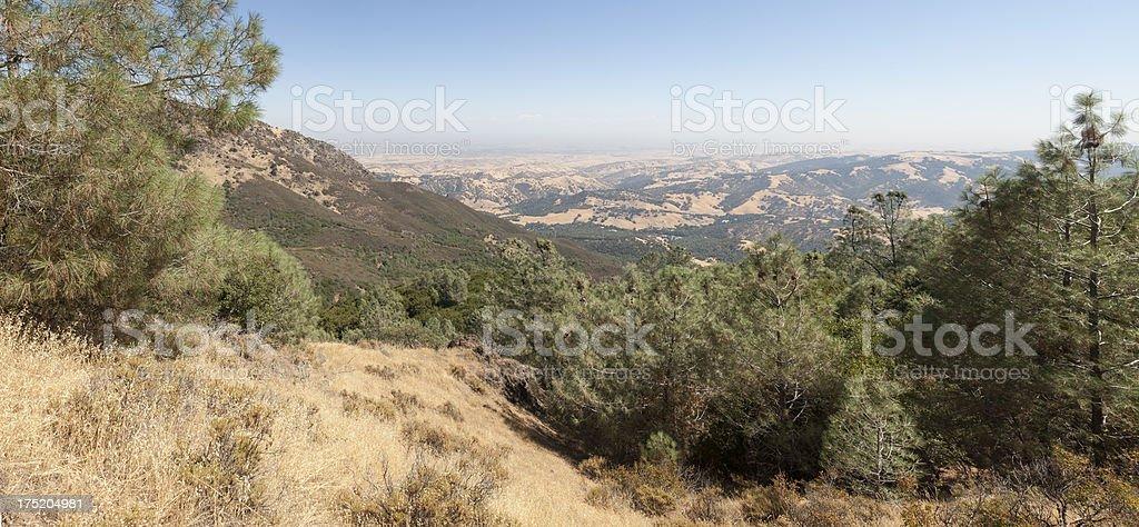 Mount Diablo Panorama royalty-free stock photo