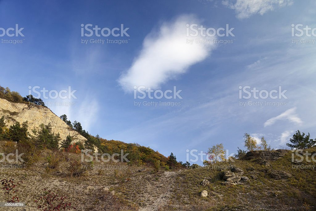 mount Dohlenstein stock photo