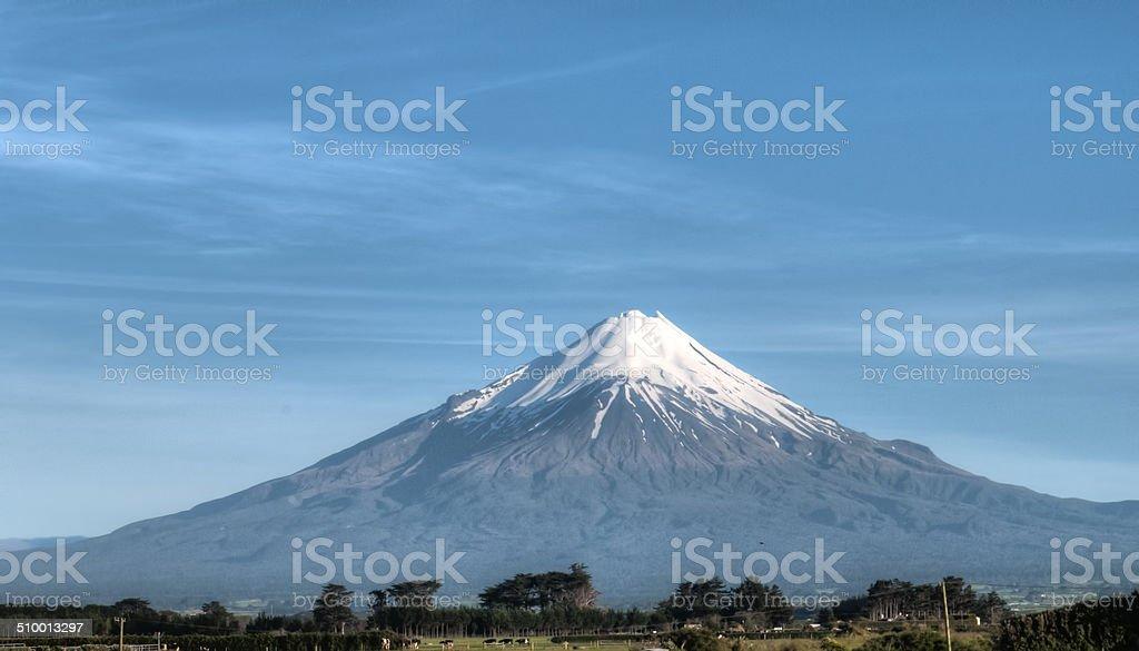 Mount Egmond stock photo