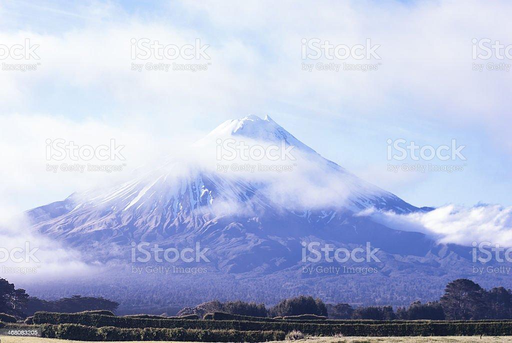 Mount Egmont stock photo