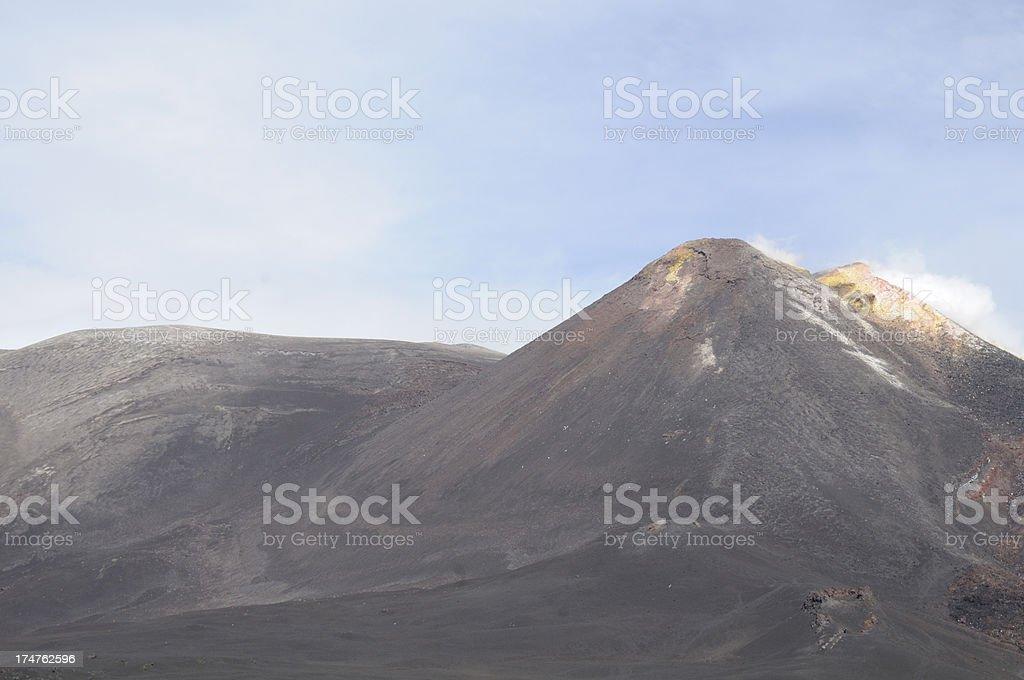 Mount Etna royalty-free stock photo