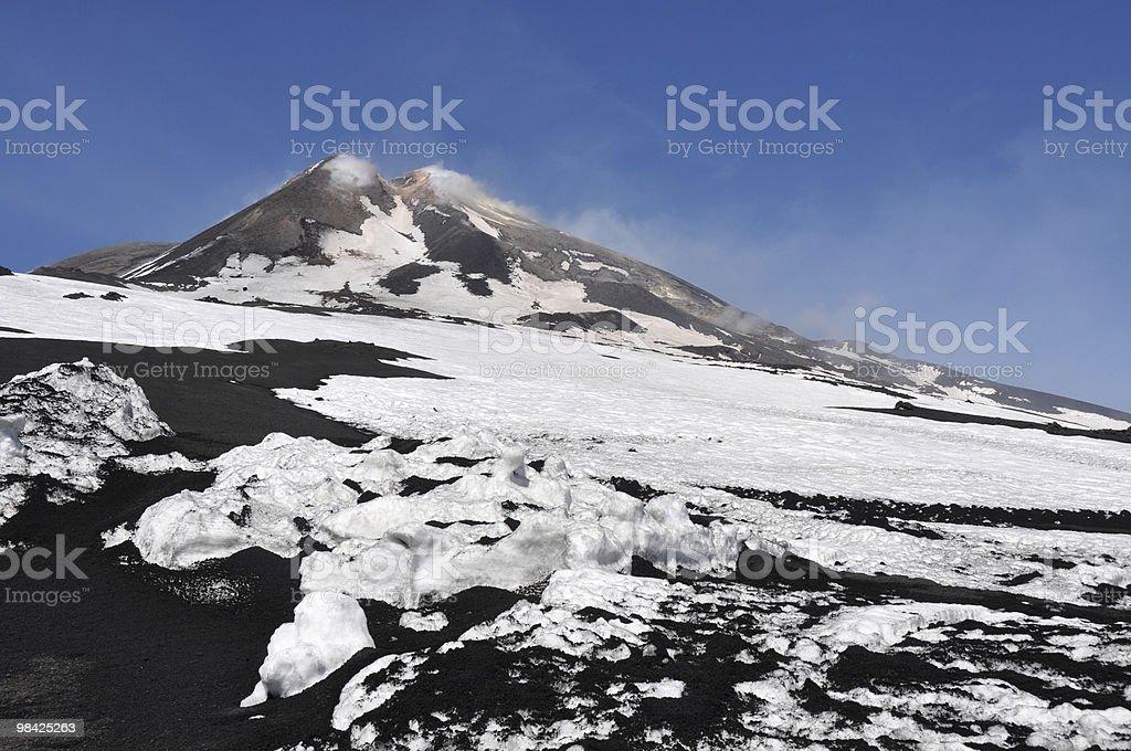 Mount Etna - Sicily stock photo