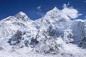 Mount Everest from Kalar Pattar