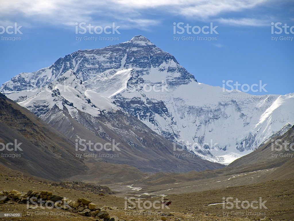 Mount Everest royalty-free stock photo