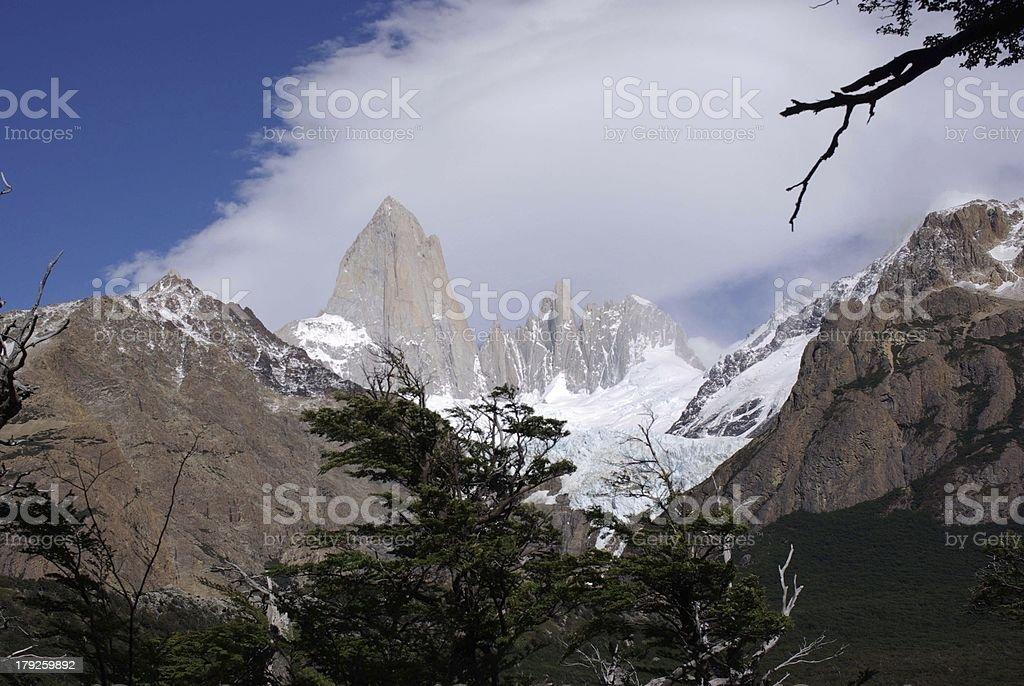 Mount Fitz Roy, Argentina royalty-free stock photo
