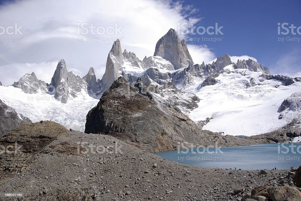 Mount Fitz Roy, Argentina royalty-free stock photo