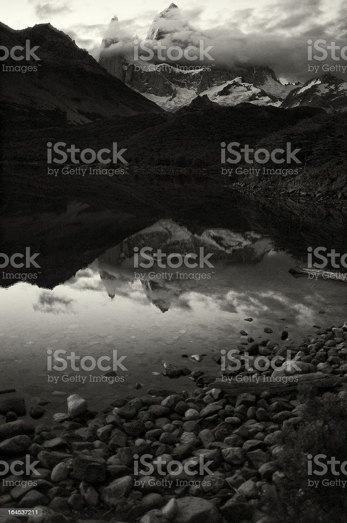 Mount Fitz Roy in Patagonia royalty-free stock photo