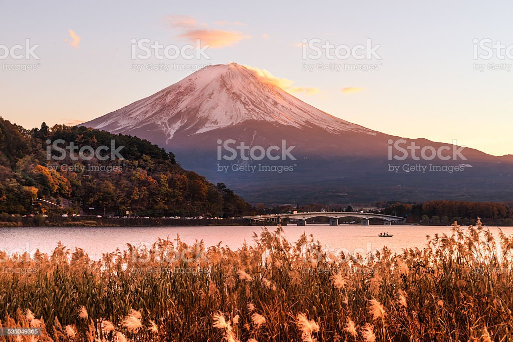 Mount Fuji, Japan. – Foto