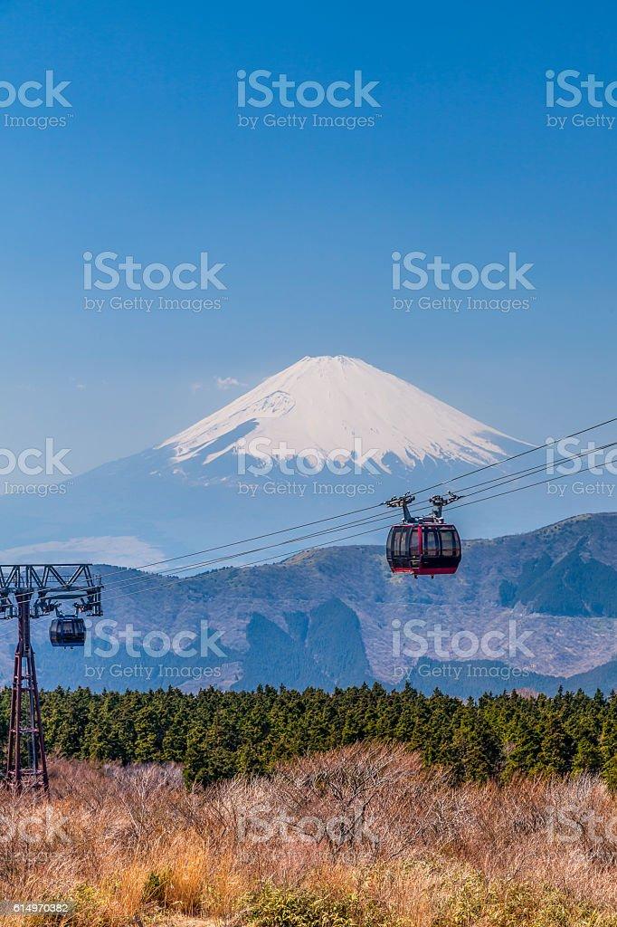 mount fuji japan stock photo