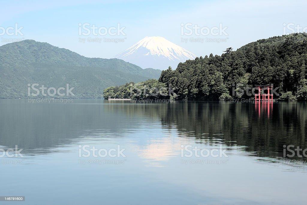 mount fuji royalty-free stock photo