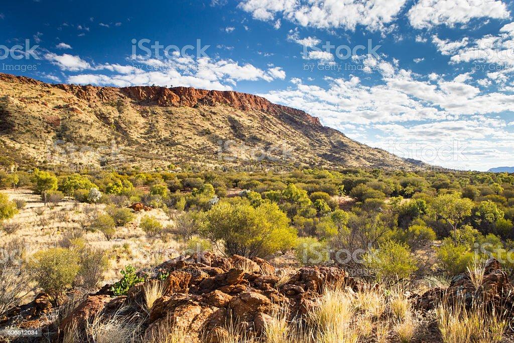 Mount Gillen stock photo