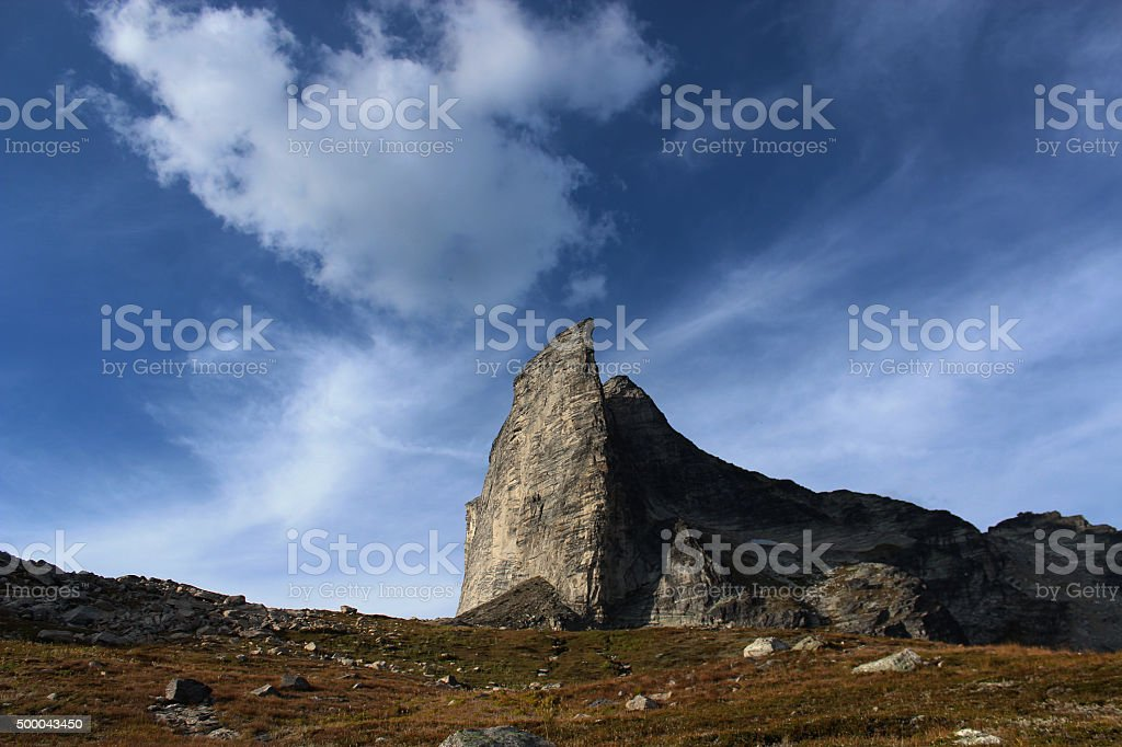 Mount Gimli, B.C. stock photo
