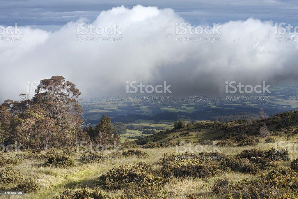Mount Haleakala royalty-free stock photo