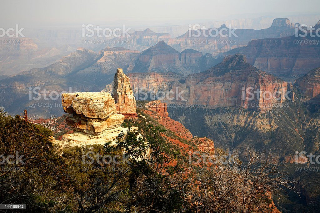 Mount Hayden – North Rim Grand Canyon royalty-free stock photo