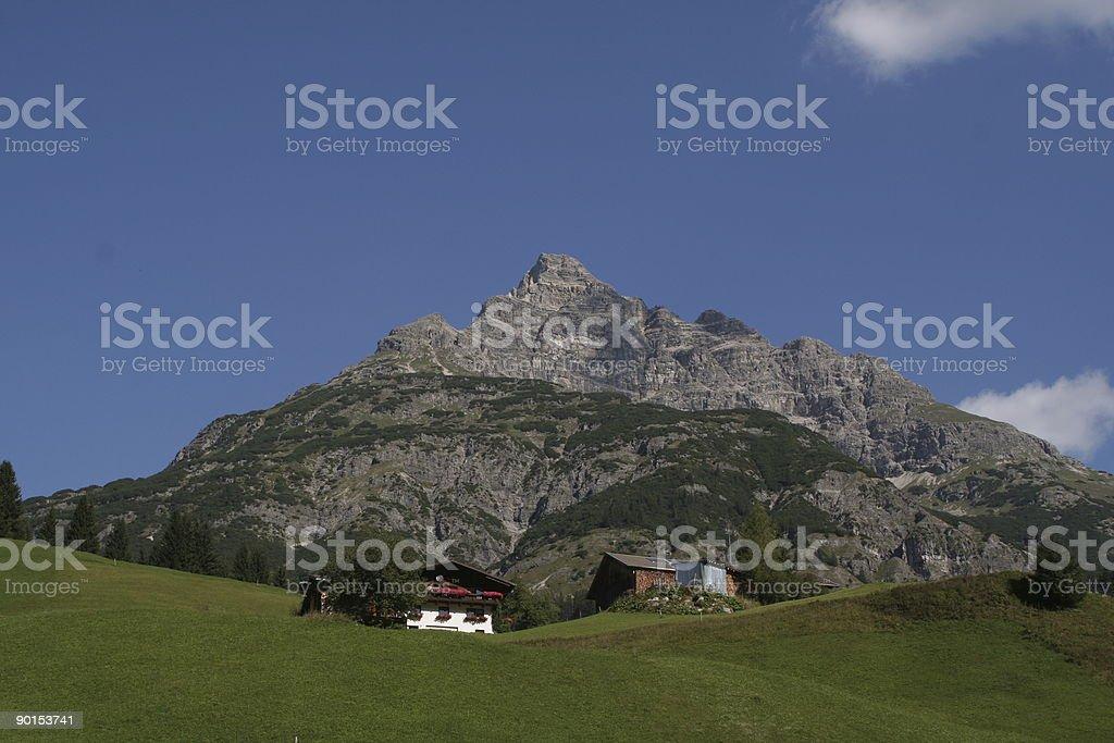 Mount 'Hochvogel' royalty-free stock photo