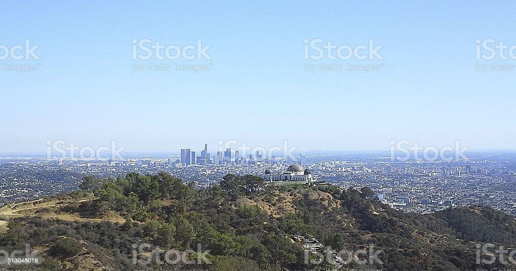 Mount Hollywood stock photo