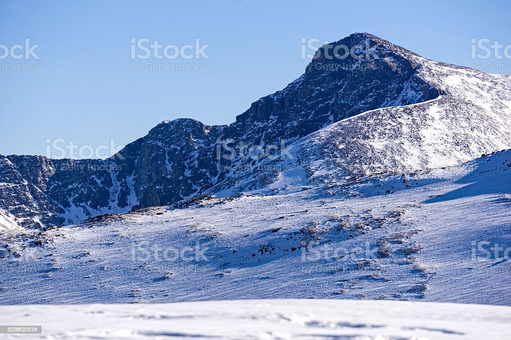 Mount Holy Cross Mountain Sawatch Range stock photo