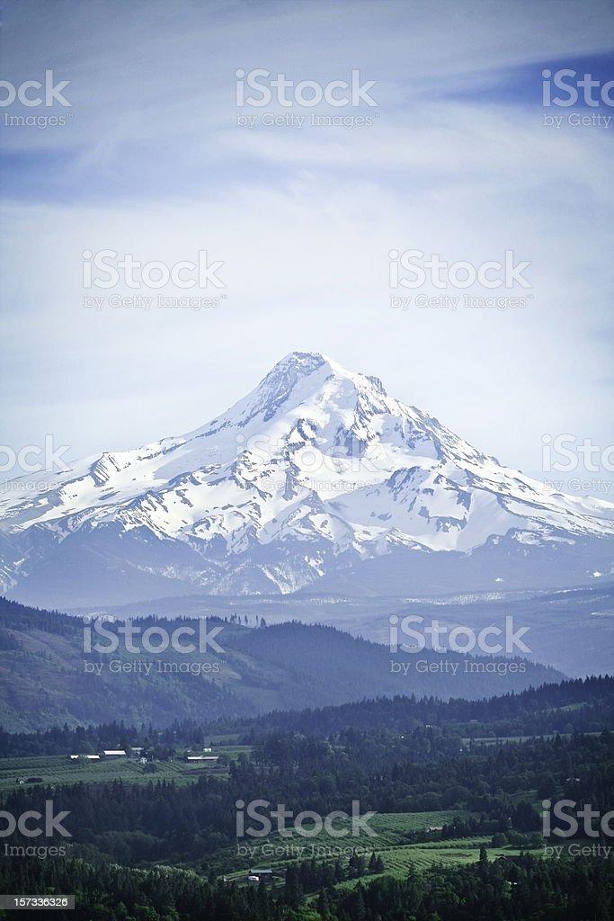 Mount Hood, Oregon State stock photo