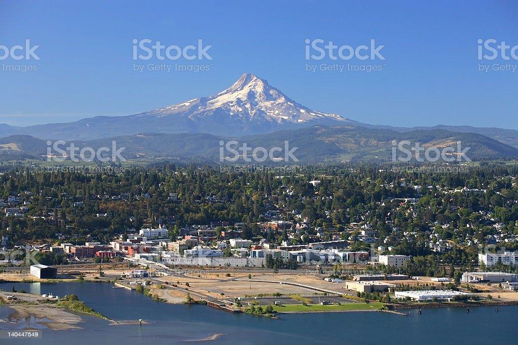 Mount Hood royalty-free stock photo