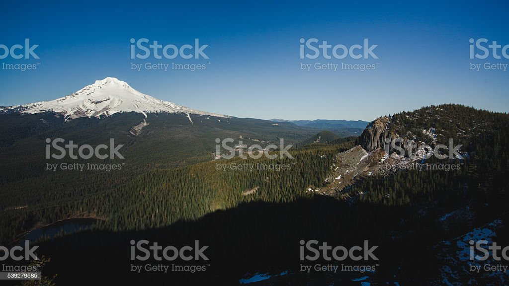 Mount Hood stock photo