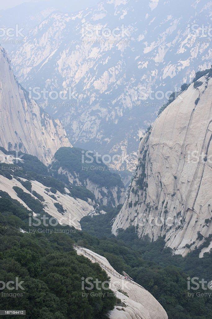 Mount Hua royalty-free stock photo