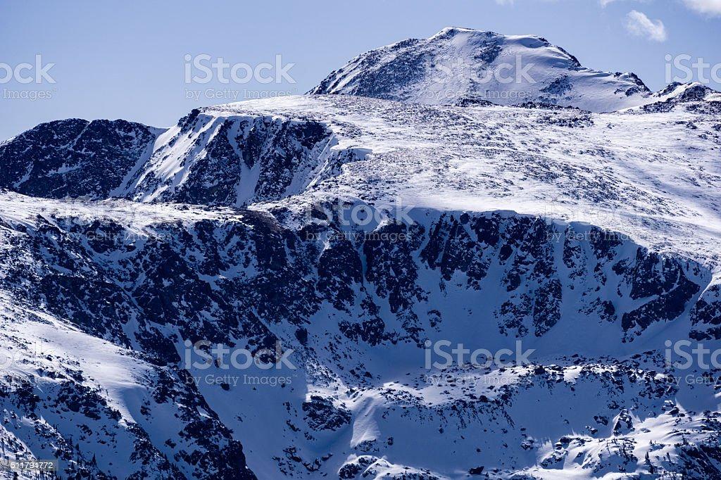 Mount Jackson Closeup stock photo