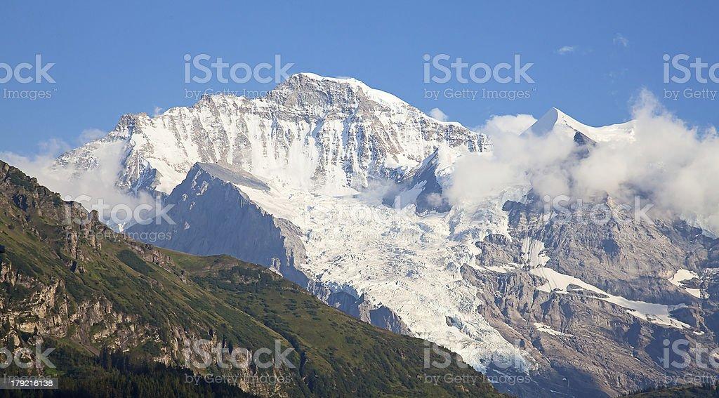 mount Jungfrau royalty-free stock photo
