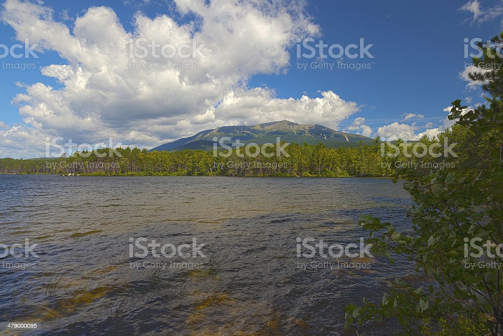 Mount Katahdin stock photo